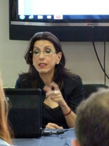 La giornalista Raffaella Rosa